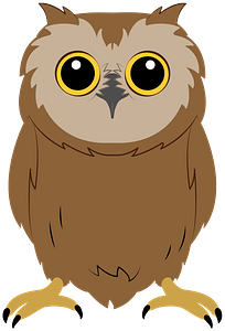 Baby owl immagine clipart
