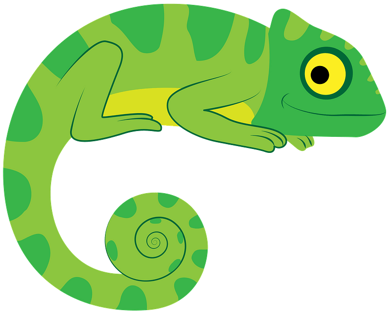 chameleon clipart free download transparent   creazilla