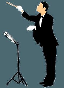Conductor Maestro clipart