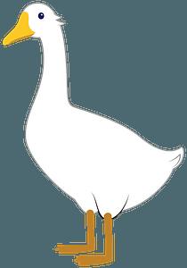 Goose clipart