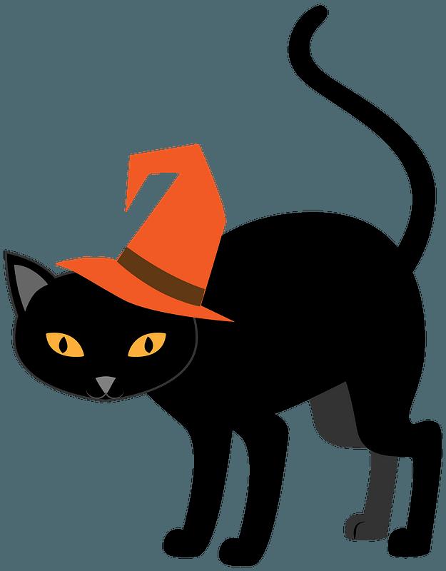 Halloween Cat Clipart Free Download Transparent Png Creazilla
