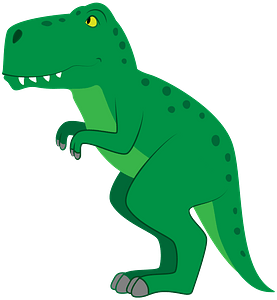 Dinosaurのクリップアート