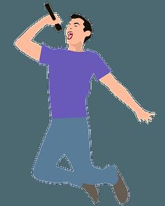 Singer clipart