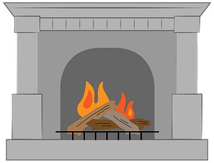 Fireplace clipart