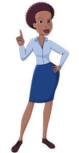 Business woman clipart