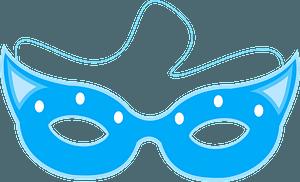 Carnival mask clipart