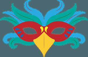 Renaissance mask clipart