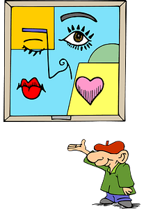 Abstract Artist clipart