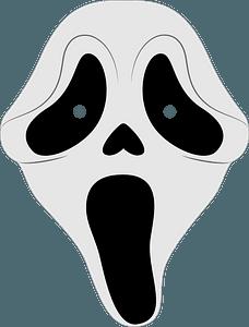 Scream mask clipart