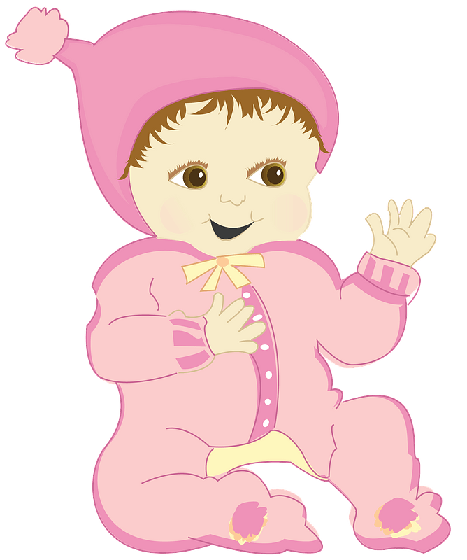 Happy Baby Girl Clipart Free Download Transparent Png Creazilla