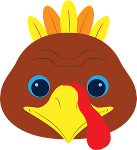 Turkey face immagine clipart