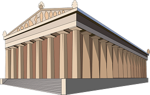 Temple of Artemis clipart
