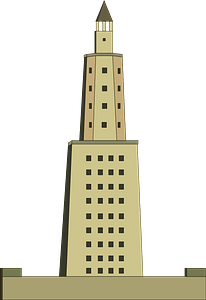 Lighthouse of Alexandria clipart