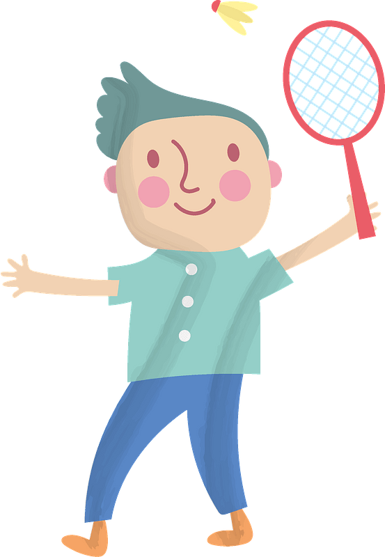 Boy Playing Clipart