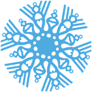 Christmas Decoration Snowflake clipart