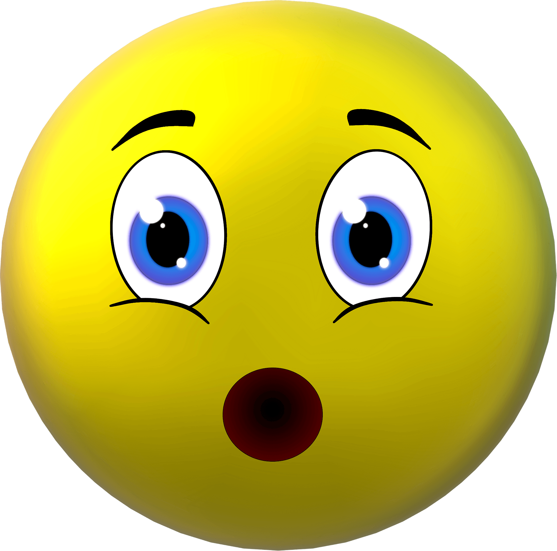 Surprised Smiley Clipart Free Download Transparent Png Creazilla