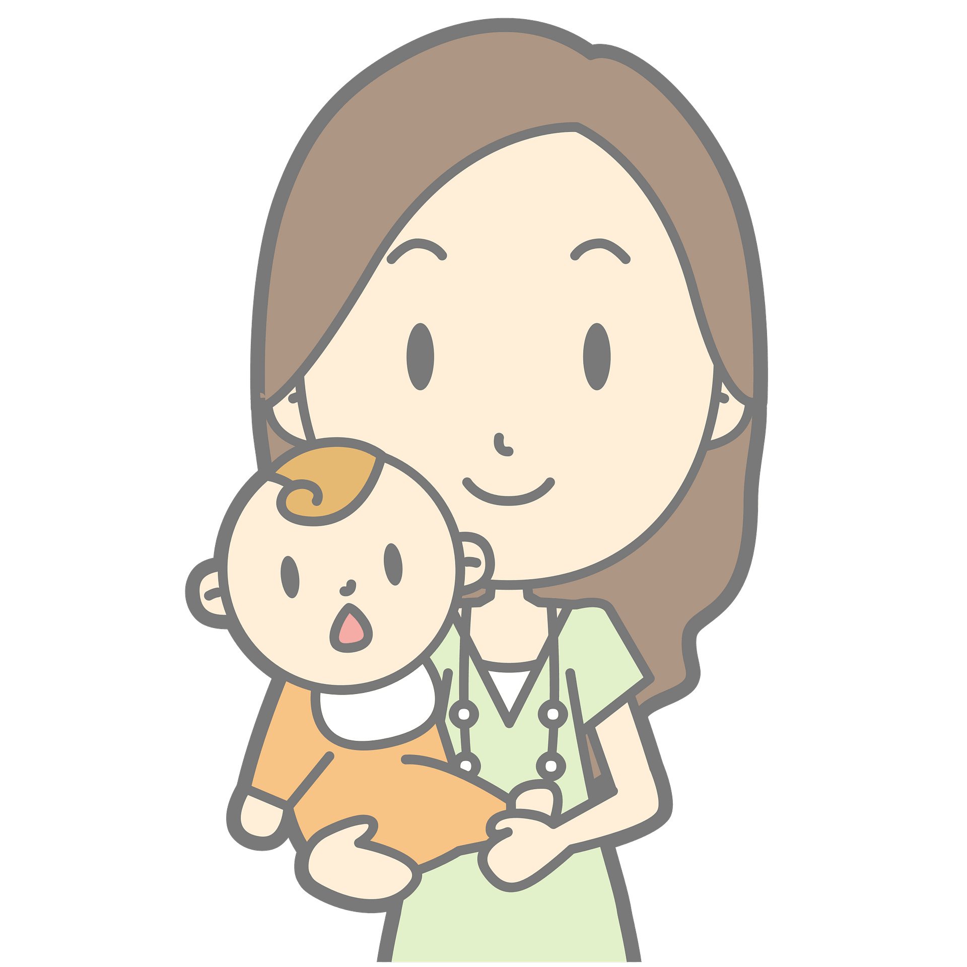 Mommy Holding Baby Clipart Free Download Transparent Png Creazilla