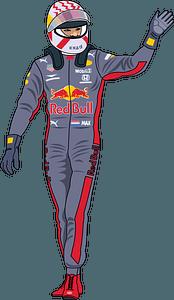 Formula 1 winner clipart