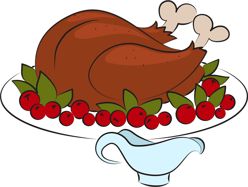 Turkey dish clipart