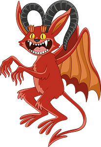 Demon clipart