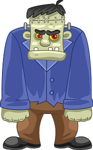 Frankenstein clipart