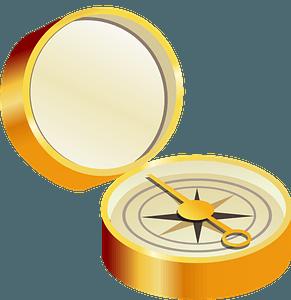 Open Compass clipart