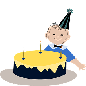 Kid's birthday clipart