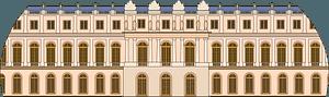 Chateau de Versailles clipart