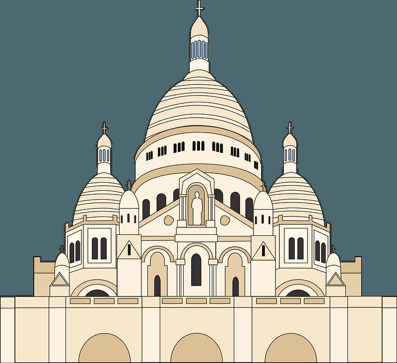 Sacre Cœur Clipart Free Download Transparent Png Creazilla
