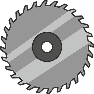 Saw blade immagine clipart