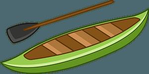 Canoe clipart