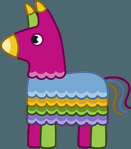 Donkey Piñata clipart