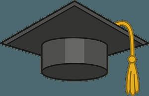 Graduation cap clipart