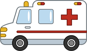 Ambulance clipart