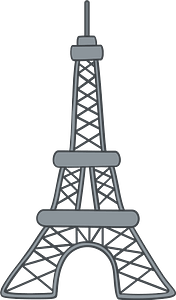 Eiffel Tower 剪贴画