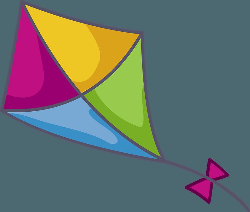 Kite Clip Art.5