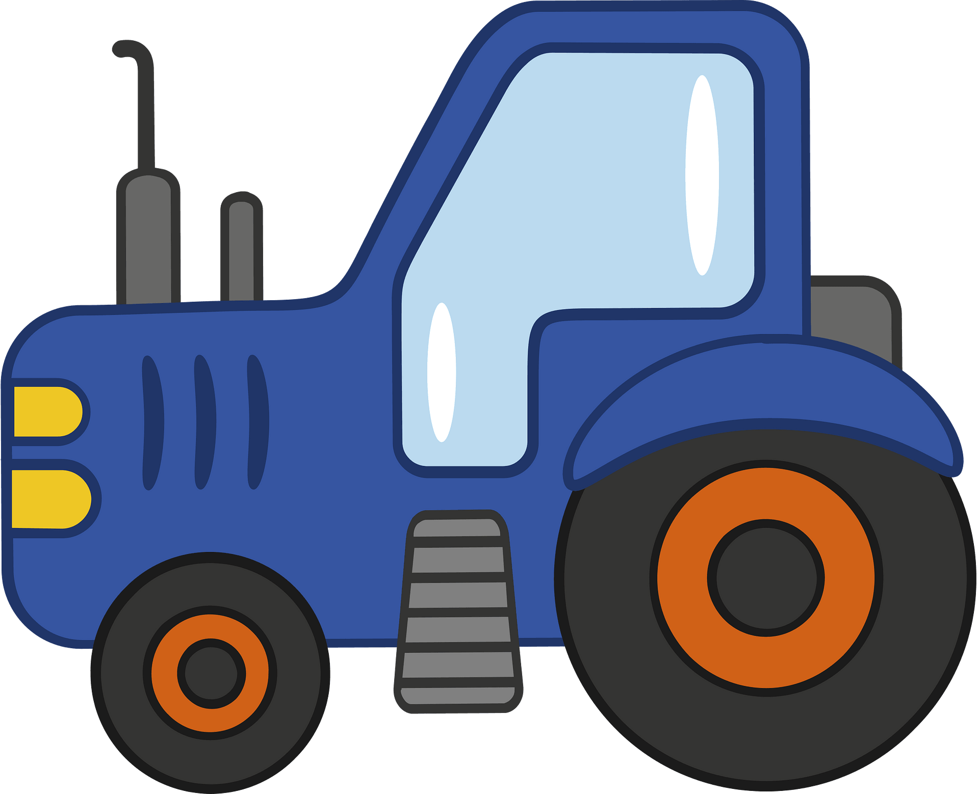 Tractor Euclidean Vector, PNG, 1037x596px, Tractor, Agriculture, Automotive  Design, Brand, Bulldozer Download Free