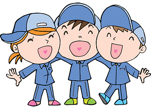 Laughing children clipart