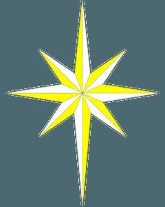 Bethlehem Star clipart