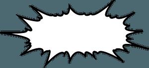 Comic speech bubble clipart