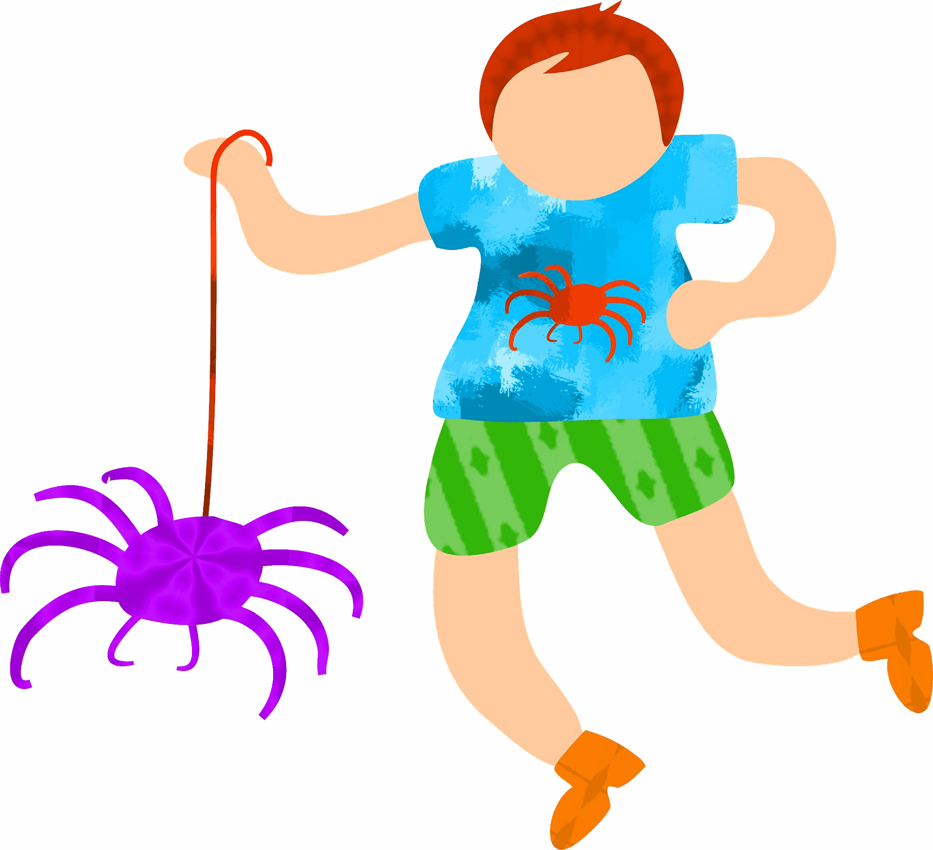 Cute spider clipart for kids free images - ClipartBarn