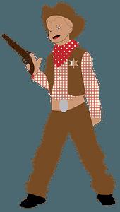 Cowboy Kid clipart