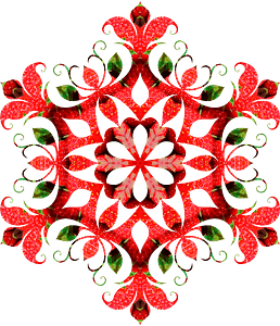 Mandala with pattern clipart