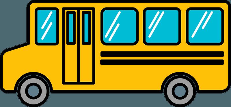 School bus clipart. Free download transparent .PNG | Creazilla