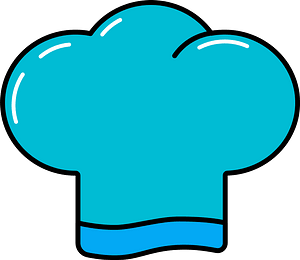 Chef's hat clipart