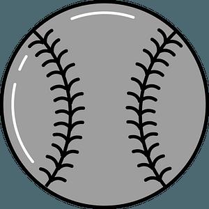 Baseball stitches clipart
