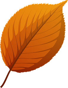 Apple tree red leaf clipart