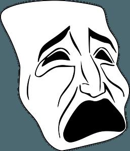 Tragic Mask clipart