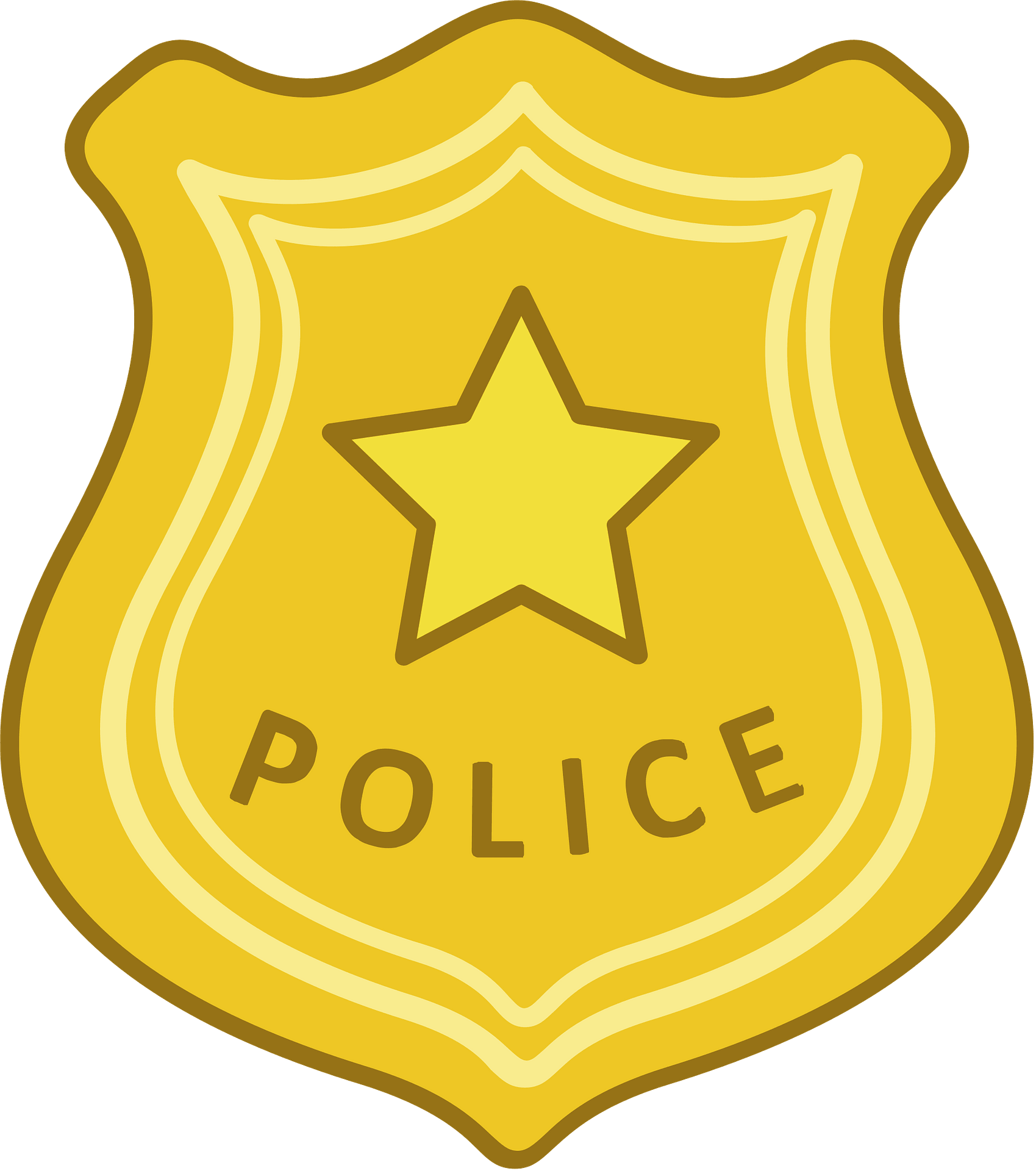 police badge clipart free download transparent png creazilla police badge clipart free download