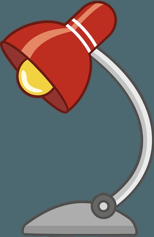 Desk lamp clipart